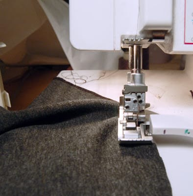 How to do invisible hemming on knits - The Last Stitch