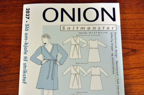 More About The Onion Wrap Dress Last Stitch